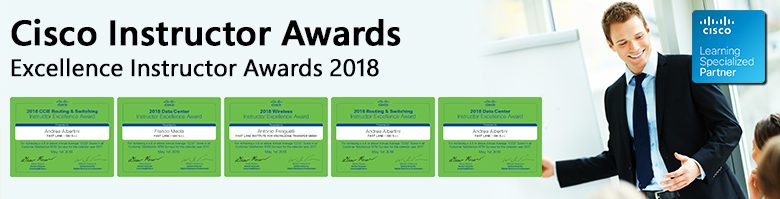 Cisco Instructor Awards 2018