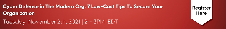 Cyber Defense in The Modern Org: 7 Low-Cost Tips To Secure Your Organization