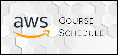 AWS Course schedule