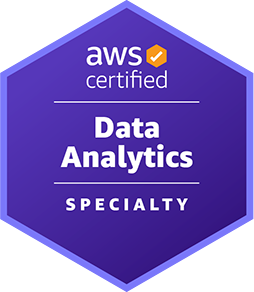 AWS Certified Data Analytics Specialty