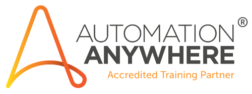 Autmation Anywhere Accredited Training Partner Logo
