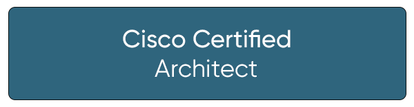 Cisco Certified Architect