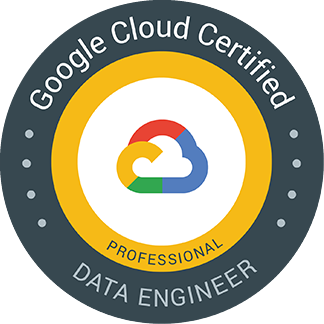 Google Cloud Certified Professional Data Engineer
