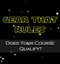Gear That Rules Side Banner - Does Your Course Qualify?