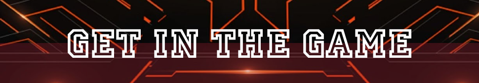 Get in the Game banner