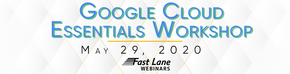 Google Cloud Workshop Banner