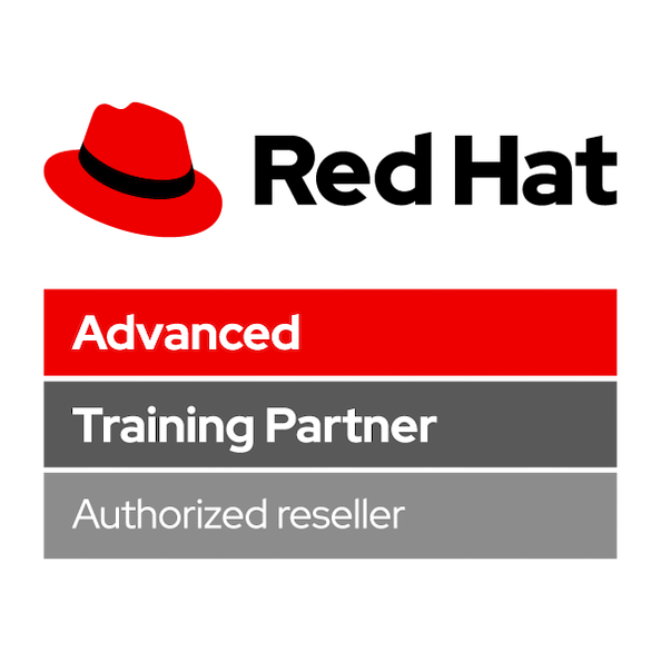 Red Hat Advanced Training Partner Authorized Reseller Logo