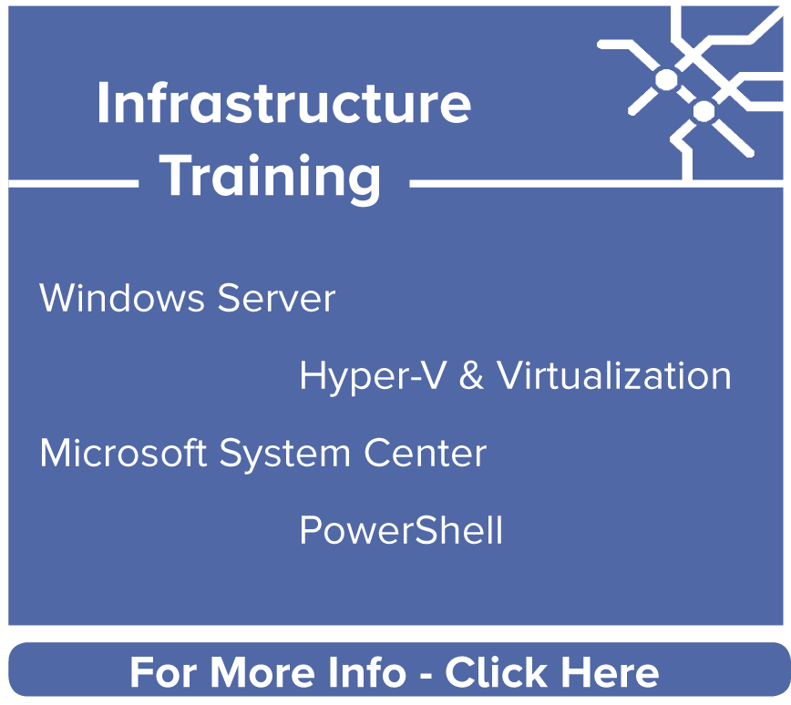 Infrastructure Training
