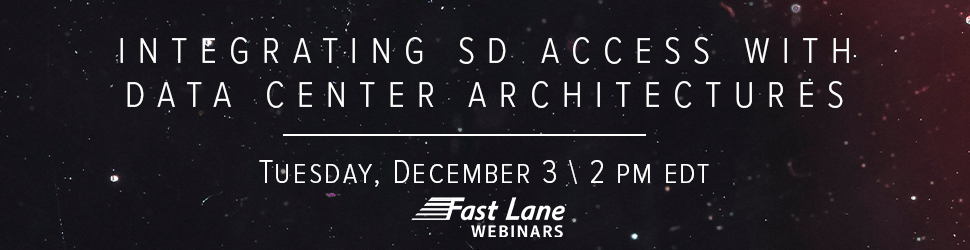 Integrating SD Access with Data Center Architectures