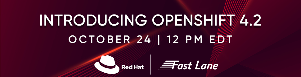 Introducing Red Hat OpenShift 4.2