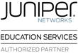 Juniper Networks Education Services Authorized Partner Logo