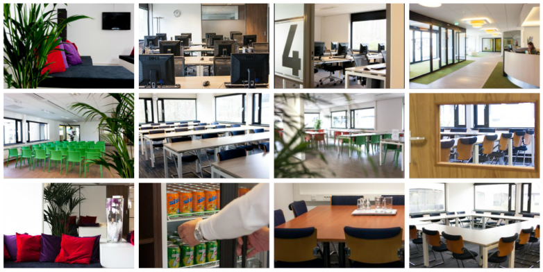 Classrooms and rooms for courses, training, meetings and seminars