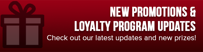Promotion and Loyalty Program Updates