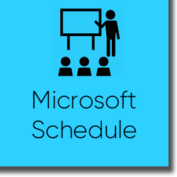 Microsoft Course Schedule