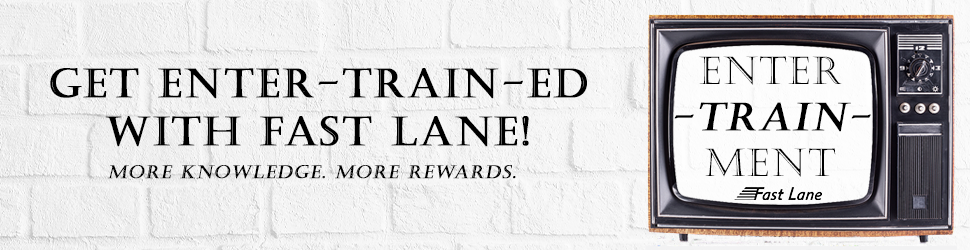 Fast Lane Enter-Train-Ment Promotion