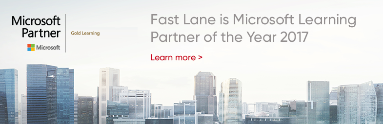 Fast Lane recognized as Winner for 2017 Microsoft Learning Partner of the Year Award