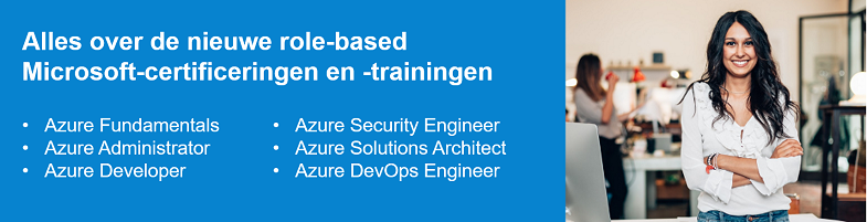 Microsoft role-based certificeringen