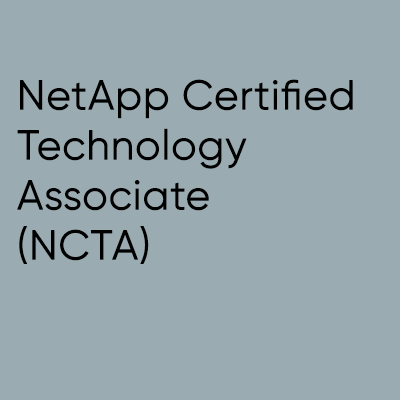 NetApp Certified Technology Associate