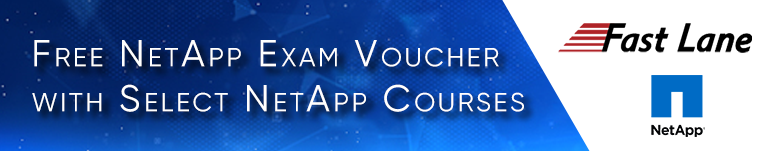 NetApp Exam Voucher Promotion - Free NetApp Exam Voucher with Select NetApp Course