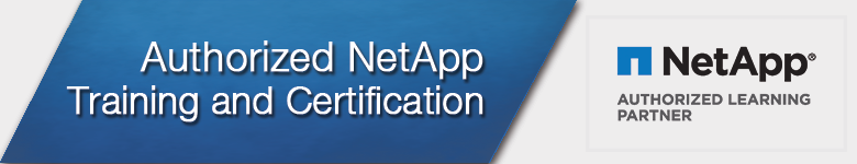 NetApp Authorized Training Provider Banner