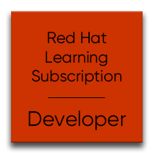 Red Hat Learning Subscription (RHLS) Developer