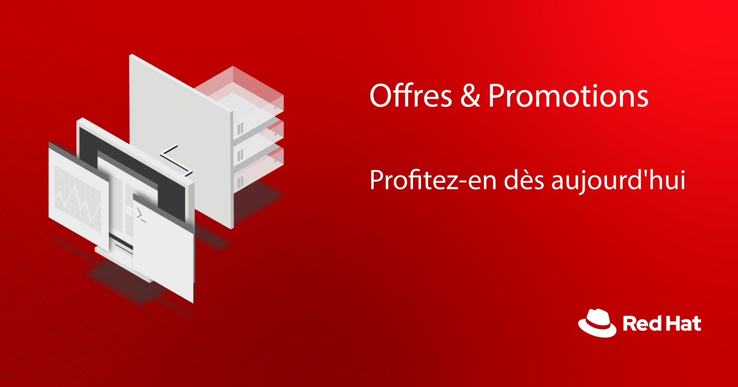 Offres & promotions Red Hat