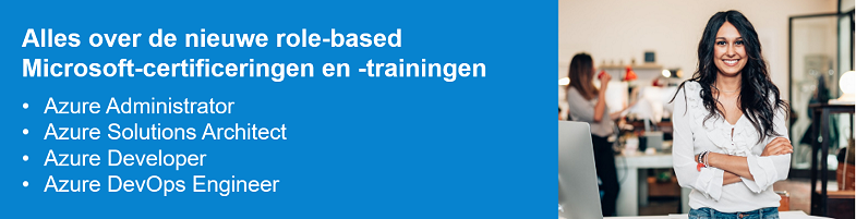 Role-based Microsoft-certificeringen
