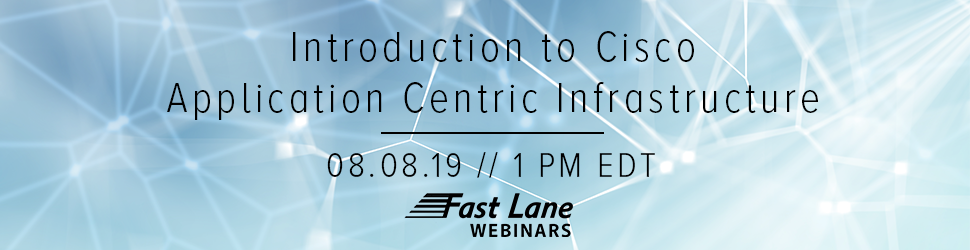 Introduction to Cisco Application Centric Infrastructure