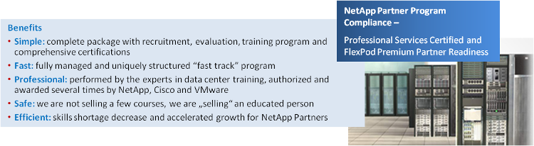 NetApp Partner Program Benefits