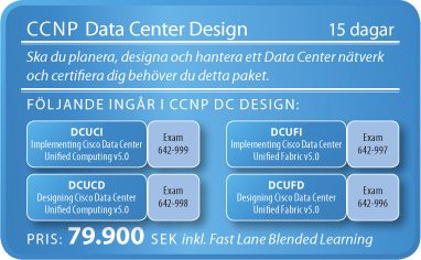 CCNP Data Center Design Boot Camp