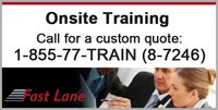 Fast Lane Onsite Training