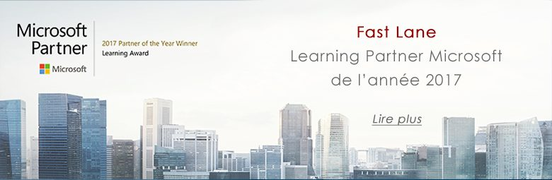 Fast Lane Microsoft Learning Partner of the Year 2017